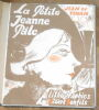 """La Petite Jeanne Pâle"". ""Jean de Tinan Robert Bonfils"""