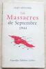 """Les Massacres de Septembre 1944"". Hary-Mitchell"