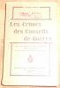 """""""Les Crimes des Conseils de Guerre"""". """"R.-G. Réau"""""""