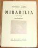 """""""Mirabilia suivi d'une Bibliographie"""". """"Théodore Koenig"""""""