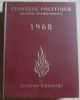 """L'Univers Politique 1968 ? relations internationales"". ""etc J.-B. Duroselle Georges Fischer Pierre Hassner Guy Berger Guy Hermet Janine Mossu"""