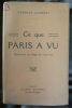"""""""Ce que Paris a vu (Souvenirs du Siège de 1870-71)"""". """"Charles Laurent"""""""