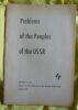 """Problems of the Peoples of the USSR - Numéro 4"". ""etc. Amedeo Giannini Ali Kantemir F. Hajenko I. Sasky"""
