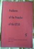 """Problems of the Peoples of the USSR - Numéro 5"". ""etc. V. Borysenko Paviel Urban W. W. V. Musabai Yevhen Glovinsky"""