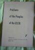 """Problems of the Peoples of the USSR - Numéro 7"". ""etc. S. Dovhal Ali Kantemir ; M. Ster Dmytro Solovey S. Tekiner Hans Fleig"""