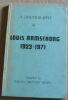 """""""A discography of Louis Armstrong 1923-1971"""". """"Jorgen Grunnet Jepsen"""""""