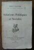 """""""Solutions politiques et sociales"""". """"Émile Ollivier"""""""