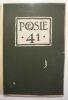 """Poésie 41 février-mars 1941 n° 3"". ""Aragon Raymond Gid A. Gide A. Fontainas J. Lebrau H. Bosco P. Seghers Loys Masson Elsa Triolet Ph. Dumaine Armand ..."
