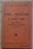 """""""Thèses et résolutions de la XI ème Assemblée Plénière du Comité Exécutif de l'Internationale Communiste (avril 1931)""""."""