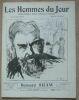 """Bernard Shaw"". ""etc? Victor Méric G. Raieter Gabriel Reuillard Henri Maret J.-C. Holl Georges Croft Jules Coste Demos Ernest Tisserand Jude"""