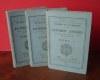 Règlement sur les maoeuvres des batteries attelées titre I, II, titres III et IV, Paris-Limoges, Henri Charles Lavauzelle, 1890.. Petite Bibliothèque ...