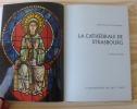 La cathédrale de Strasbourg. Chefs d'Oeuvre du vitrail européen. Paris. Bibliothèque des Arts. 1970.. BEYER, Victor