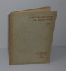 Le parti pris des choses. Collection métamorphoses XIII. NRF Gallimard Paris. 1942.. PONGE, Francis