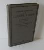 Grammaire élémentaire de la langue Serbe. Grammaire - Exercices - Textes - Lexique. Deuxième édition. Delagrave. Paris. 1916.. LANUX, Pierre de - ...