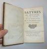 Satyres, de la traduction de M. de Martignac avec des remarques. Paris, chez Guillaume de Luyne, 1682. . JUVENAL - PERSE