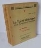 Le tarot initiatique. Étude symbolique & ésotérique. Préface de Vanlentin Bresle. Collection le lien d'unité. Maizières-les-metz, Moselle. 1962-1965.. ...