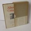 Album Camus. Iconographie choisie et commentée par Roger Grenier. Paris. NRF. Gallimard. 1982.. CAMUS, Albert