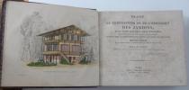 Traité de la composition et de l'ornement des jardins, avec cent soixante-huit planches représentant, en plus de six cent figures, des plans de ...