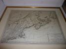 """""""Carte de la partie septentrionale des Etats Unis : comprenant le Canada, la Nouvelle Ecosse, New Hampshire, Massachuset's Bay, Rhode Island, ..."""