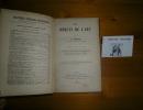 Les débuts de l'art, traduit de l'allemand par E. Diir. Introduction par Léon Marillier. Bibliothèque Scientifique Internationale. Paris. Félix Alcan. ...