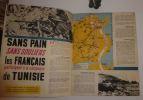 Baroud. Quatre années de lutte avec l'armée Française. 1940-1944. Éditions SELO. Lyon. 1944.. COLLECTIF