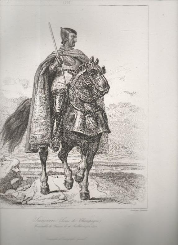 Galeries de Versailles. - Connétables, 1060 à 1621. - Planches..