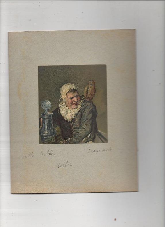 [Chromolithographie] - Malle Babbe. (aussi : Hille Bobbe, ou : Sorcière de Haarlem).. HALS Frans ..//.. Frans Hals (1580<1583-1666).
