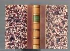 Lettres d'Eugénie De Guérin, publiées avec l'assentiment de sa famille par G. S. Trébutien.. DE GUERIN Eugénie ..//.. Eugénie De Guérin.