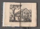 J.-J. Rousseau au Val de Travers. 1762 - 1765.. BERTHOUD Fritz ..//.. Fritz Berthoud (1812-1890).