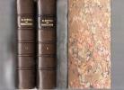 Traité de toxicologie.. ORFILA ..//.. Mathieu-Joseph-Bonaventure Orfila (1787-1853).