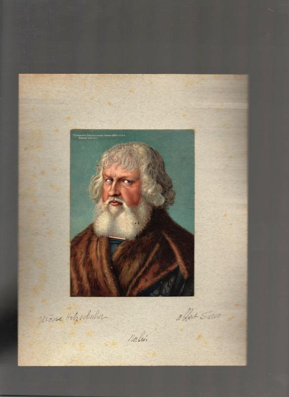 [Chromolithographie] - Hieronymus Holzschuher.. DÜRER Albrecht ..//.. Albrecht Dürer (1471-1528).