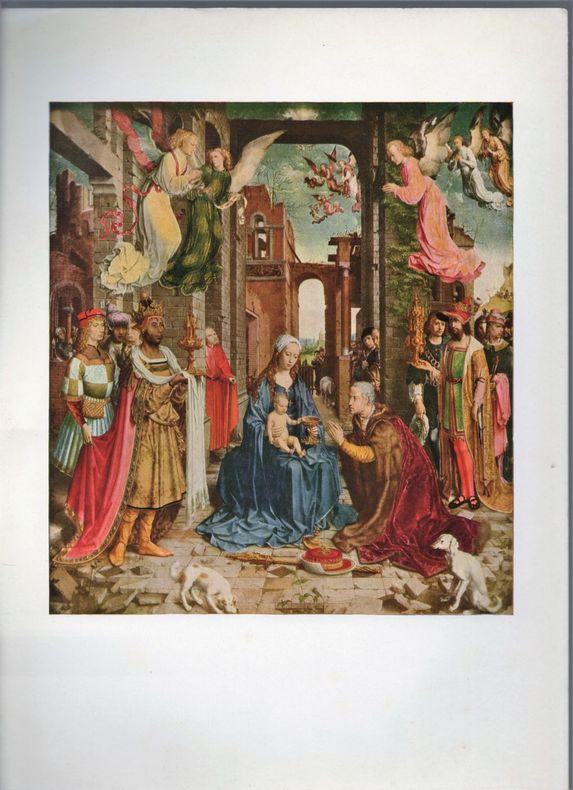 Adoration des Rois Mages.. GOSSART DE MABUSE ..//.. Jean Gossart de Mabuse.
