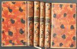 Oeuvres completes de M. Helvetius. - [tomes 2 à 5, manque tome 1].. HELVETIUS ..//.. Claude-Adrien Helvetius (1715-1771).