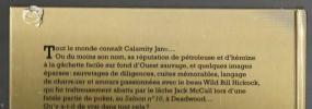 Calamity Jane. Mémoires de l'Ouest.. MONRO Grégory .//. Grégory Monro.