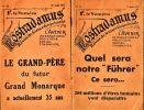 [Revue] - Nostradamus. Revue de Science Conjecturale. - N° 10 du 17 juin 1933 / N° 15 du 10 août 1933. - Ensemble de deux fascicules. .