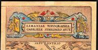 [Carte géographique] - Limaniae topographia.. SIMEONI Gabriel ...//... Gabriel Simeoni, ou Symeoni, ou Syméon, l'auteur se désignait Gabriello Simeoni ...