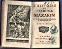 Histoire du Cardinal Mazarin. Par M. Aubery.. AUBERY Antoine ...//... Antoine Aubéry (1616-1695).