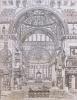 Palais, maisons, et autres édifices modernes, dessinés à Rome ; publiés à Paris en 1798.. PERCIER, Charles ; FONTAINE, Pierre.