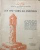 le Feu, Organe du Régionalisme méditerranéen, 15 mai 1935,  Les Oratoires de Provence. Sicard, Emile fondateur