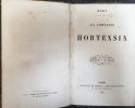 La Comtesse Hortensia suivi de La Famille Dherbier . Méry, [Joseph]