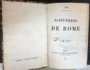 Saint-Pierre de Rome. Méry, [Joseph]