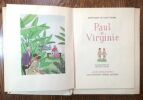 Paul et Virginie. Illustrations de André E. Marty. .  BERNARDIN DE SAINT-PIERRE Jacques-Henri.