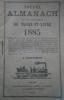 Nouvel almanach du département de Maine-et-Loire. 1885.. ALMANACH DU MAINE ET LOIRE 1885