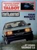 L'auto-journal 1980 N° 2.. L'AUTO-JOURNAL 1980