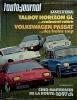 L'auto-journal 1981 N° 7.. L'AUTO-JOURNAL 1981