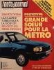 L'auto-journal 1981 N° 19.. L'AUTO-JOURNAL 1981
