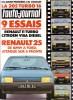L'auto-journal 1984 N° 6.. L'AUTO-JOURNAL 1984