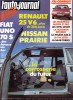 L'auto-journal 1984 N° 8.. L'AUTO-JOURNAL 1984