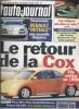 L'auto-journal 1995 N° 419.. L'AUTO-JOURNAL 1995