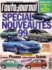 L'auto-journal 1998 N° 504.. L'AUTO-JOURNAL 1998